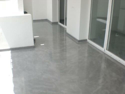 Floor Microcement Silver (2)